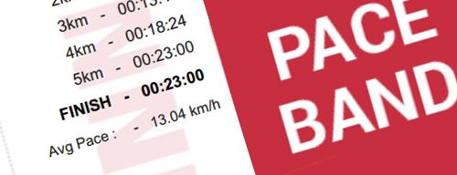 Marathon Pace Band