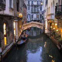 Gondola Serenade, Venice