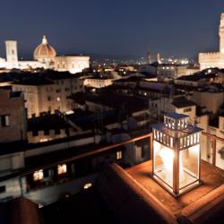 Hotel Torre Guelfa - Terrace Nightime