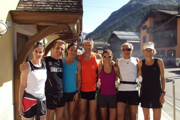 Livigno Running Group 2012