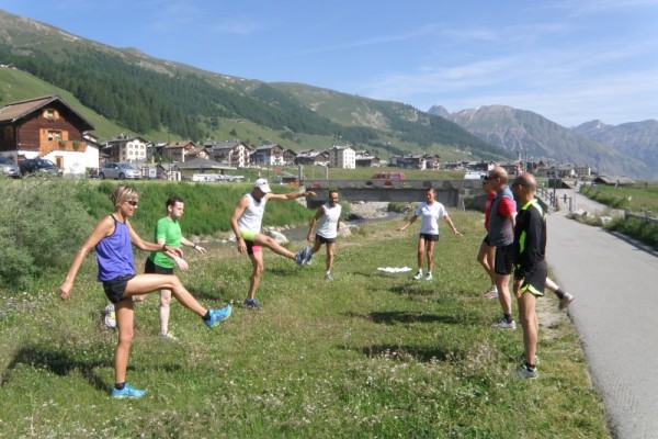 Mobility Exercises Running Camp Livigno