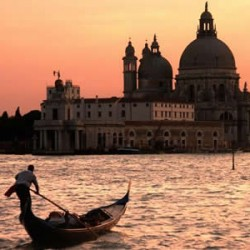 Romantic Waterways in Venice