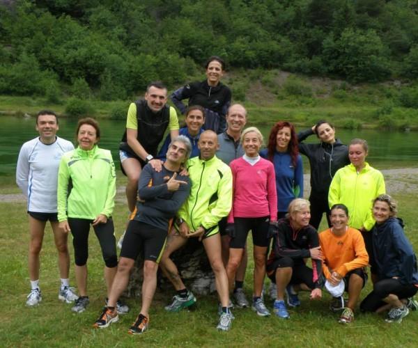 Running Stage Trentino 2013 Group Photo