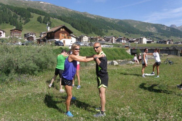 Andrea & Sanna Running Camp 2013