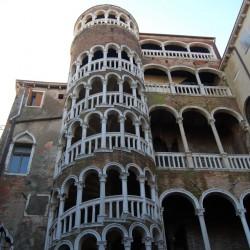 Picturesque building in Venice