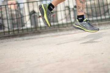 La scarpa da running