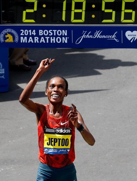 Rita Jeptoo Boston Marathon 2014