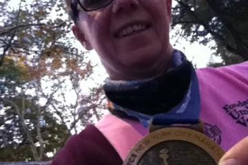 Monica e la Maratona di New York.