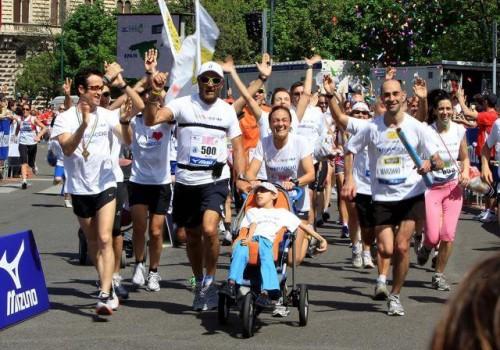 Staffetta Maratona Running4you Abbraccio