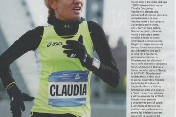 Claudia Gelsomino. Fiore all'occhiello di Running4you