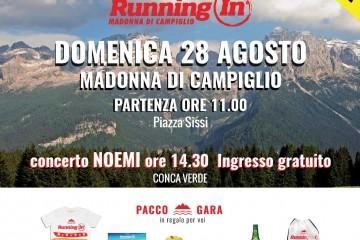 Running In Madonna di Campiglio